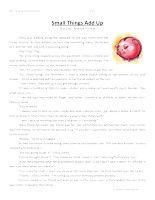 Third Grade Comprehension Worksheet