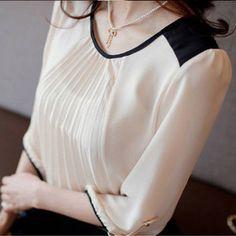 ebay 11.04$ http://www.ebay.ca/itm/Fashion-Women-Round-Neck-3-4-Sleeve-Loose-White-Chiffon-Shirts-Tops-Blouse-New-/300892127279?pt=US_CSA_WC_Shirts_Tops==item460e91802f#ht_12549wt_1014
