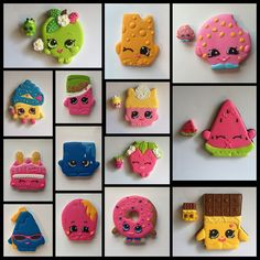 Isn't this cool ? Shopkins cookies !!