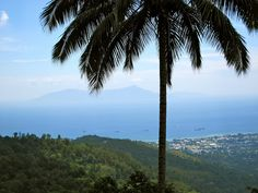 A spectacular view of Atauro Island across the Wetar Straight, and Dili at a distance.