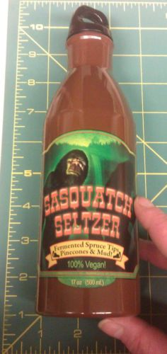 Sasquatch Seltzer - Stainless steel 17oz water bottle - twist cap with loop - Clicking the website link will take you to our eBay store listing - clicking the following link will take you to our Way Up In Alaska webpage with this listed :  http://www.wayupinalaska.com/Mugs.html (it's down at the bottom of the page :)   )