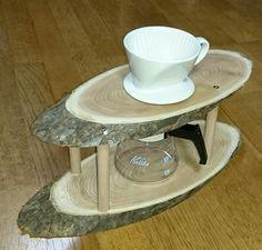 コーヒードリップスタンド自作 Coffee Pour Over Stand, Coffee Stands, Coffee Brewer, Coffee Shop, Coffee Maker, Café Chocolate, Coffee Holder, Coffee Equipment, Coffee Dripper