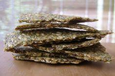 i make... raw dehydrator flaxseed crackers
