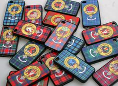 Clan Crest iPhone 4 Covers:    http://www.scotclans.com/exclusive/SC-MPC-01.html