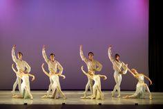 Celebration. Choreography - Christopher Gable CBE. Photo - Bill Cooper. by Central School of Ballet, via Flickr