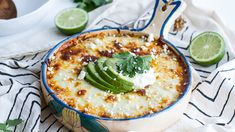 Chicken Enchilada Quinoa Bake recipe and reviews - Traditional enchiladas get a better-for-you upgrade in this no-roll, cheesy quinoa bake.