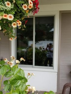 Fibrex Gliding window replacement upgrades the energy efficiency for the home.