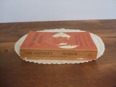 The Odyssey by Homer Translated by Robert Fitzgerald A Double Day Anchor Paperback Book by jessamyjay on Etsy