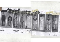 Fashion Sketchbook - lineup; fashion design development; fashion portfolio // Abzal Issabekov