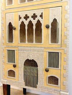 Venetian palazzo cabinet close-up- Jeff Huckaby Studio