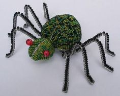 Real Spider Bead Collection