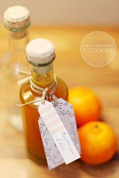 Last Minute-Geschenk: Mandarinen-Likör
