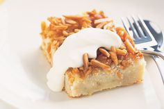 Need to satisfy a sweet craving fast? Whip up our cheats version of apple and almond slices.