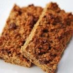 Protein & Granola Bars - Clean Eating Cinnamon Chocolate Chip Protein Bars Recipe
