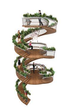 Galeria - Escadaria Viva / Paul Cocksedge - 12