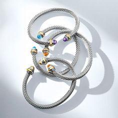 Cable Classics bracelets.