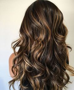 This style with ash brown baby lights
