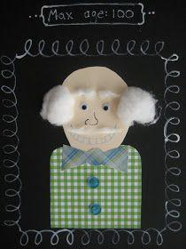 sugarlily cookie company: day of school self-portraits 100th Day Of School Crafts, School Art Projects, 100 Days Of School, Classroom Crafts, Kindergarten Activities, Educational Activities, Preschool Ideas, 100s Day, School Portraits