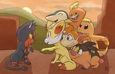 Welcome to the Fire type starter club, Litten.