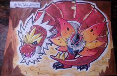 DAY 3 -- 30 days drawing challenge - Pokémon © Ariadna http://artallerbizarro.blogspot.com.es/2015/09/day-3-30-days-drawing-challenge-pokemon.html