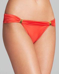 ViX Solid Pera Bia Tube Bikini Bottom