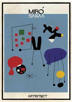 ARTISTECT - federico babina (Miró / Sanaa)
