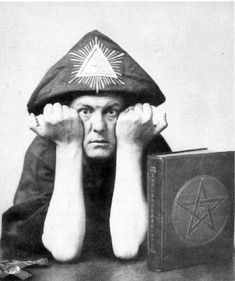 satanist and supporter of the nwo/freemasons Lol. That should read Aleister Crowley. A Freemason that popularized &/or promoted Wicca & the Hermetic Order of the Golden Dawn. Aleister Crowley, Ozzy Osbourne, Swinging London, Cartoon Network, Les Doors, Witch Pictures, Dangerous Minds, New World Order, Black Magic