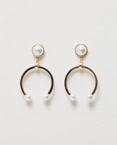 ZARA - NEW IN - HORSESHOE EARRINGS
