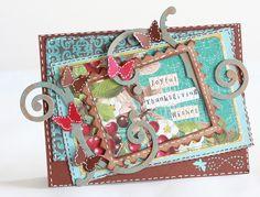 Joyful Thanksgiving Wishes card - Scrapbook.com