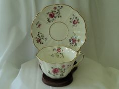 Vintage C & E Victoria Pink Rose Fine China by OurBarefootCottage.etsy.com