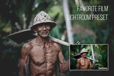 Favorite Film: Free Lightroom Preser