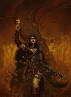 Witch Hunter. Art by Jeff Himmelman.