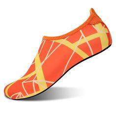 8a8bd69eb L-RUN Unisex Water Shoes Barefoot Skin Shoes for Run Dive Surf Swim Beach  Yoga  Amazon.ca  Shoes   Handbags