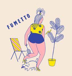 Frau Franz // Fumetto Sac fourre-tout