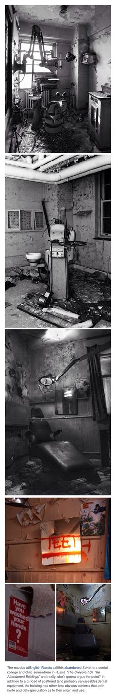 Creepy, haunted and abandoned Dental College.