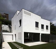 Two Semi-detached Houses In Barcelona /// CAVAA Arquitectes
