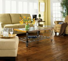 Somerset Hardwood Prefinished Handscraped Engineered Hardwood Floors available in American Country