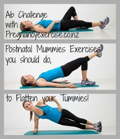 The safest Ab challenge is about to start! Postnatal mummies, join the brand new 14 day No More Mummy Tummy Challenge with Pregnancyexercise.co.nz    Join Now starts Mon 9th June!