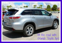 Taking a summer road trip? Check out our Orlando Toyota tips before you hit the highway!   http://blog.toyotaoforlando.com/2015/07/plan-a-road-trip-with-orlando-toyota-tips/