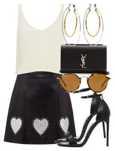 Designer Clothes, Shoes & Bags for Women Outfit Goals, Everyday Outfits, Tom Ford, Miu Miu, River Island, Yves Saint Laurent, Alexander Mcqueen, Addiction, Personal Style