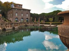 Villa Lante - Bagnaia (VT) -  One of the most famous Mannerist Italian Gardens of the sixteenth century