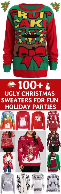 New funny christmas sweaters diy 17 ideas Funny Christmas Sweaters, Ugly Xmas Sweater, Christmas Humor, Holiday Fun, Christmas Holidays, Christmas Ideas, Xmas Sweaters, Christmas Tops, Christmas Shirts