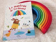 Le manteau de Ferdinand, de  Tom Percival et Christine Pym, Éditions Circonflexe - 9782878339468. « De belles illustrations colorées pour ce livre plein de bienveillance, on adhère complètement ! »
