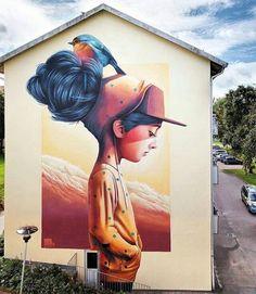 Mural by Linus Lundin