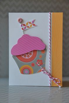 card by Michelle Jones using CTMH Dream Pop paper