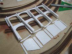Muros de piedra en modelismo ferroviario                                                                                                                                                                                 Más