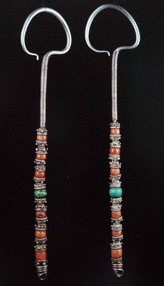 Indigenous Body Adornment / Mongolian Jewelry
