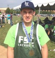 Nick Colleluori Classic: Farmingdale State's Romanelli grateful for life and lacrosse as blood cancer survivor - http://phillylacrosse.com/2013/10/08/nick-colleluori-classic-farmnick-colleluori-classic-farmingdale-states-romanelli-grateful-for-life-and-lacrosse-as-blood-cancer-survivoringdale-states-romanelli-has-beaten-blood-cancer/