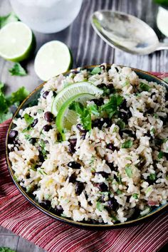 Cilantro Lime Rice Recipe | Carlsbad Cravings