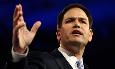 Shut up Marco Rubio. Seriously.
